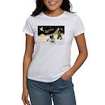 Night Flight/Bull Mastiff Women's T-Shirt