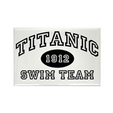 Titanic Swim Team Rectangle Magnet (100 pack)