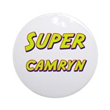 Super camryn Ornament (Round)