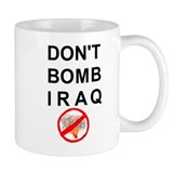 Don't Bomb Iraq Small Mugs