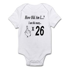Unique 26th birthday party Infant Bodysuit