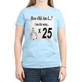 Cute Happy 25th birthday T-Shirt
