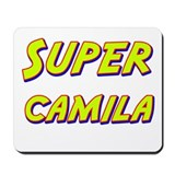 Super camila Mousepad