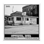 Diner -- Ottumwa, Iowa -- Tile Coaster
