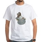 English Trumpeter Mealy White T-Shirt