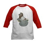 English Trumpeter Mealy Kids Baseball Jersey