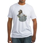 English Trumpeter Mealy Fitted T-Shirt