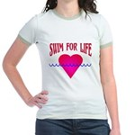 Swim for Life Jr. Ringer T-Shirt