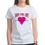 Swim for Life Women's T-Shirt