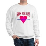 Swim for Life Sweatshirt