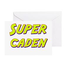 Super caden Greeting Card