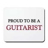 Proud to be a Guitarist Mousepad