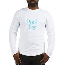 Pool Boy Long Sleeve T-Shirt