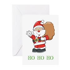 Santa Ho Ho Ho Greeting Cards (Pk of 20)