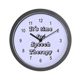 Speech Therapist Wall Clock
