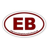 EB EverythingBaby Euro Oval Decal