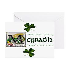 McGrath Celtic Dragon Note Cards (Pk of 10)