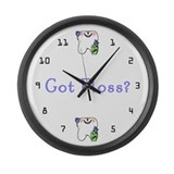 Hygienist Large Wall Clock