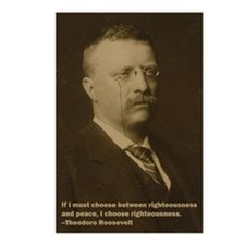 Theodore Roosevelt Quote Postcards (Package of 8)