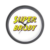 Super brody Wall Clock