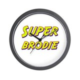 Super brodie Wall Clock