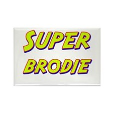 Super brodie Rectangle Magnet (10 pack)
