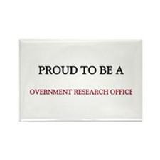 Proud to be a Government Research Officer Rectangl