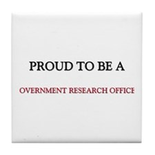 Proud to be a Government Research Officer Tile Coa