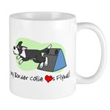 Border Collie Flyball Mug
