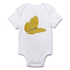 Yellow Butterfly (Bug 7) Infant Bodysuit