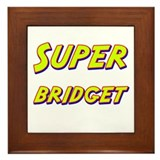 Super bridget Framed Tile