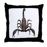 Scorpion (Bug 2) Throw Pillow