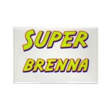Super brenna Rectangle Magnet (10 pack)