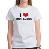 I Love Tour Guides Tee