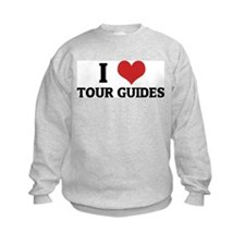 I Love Tour Guides Sweatshirt