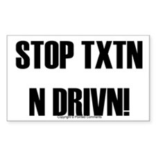 txtn Rectangle Decal