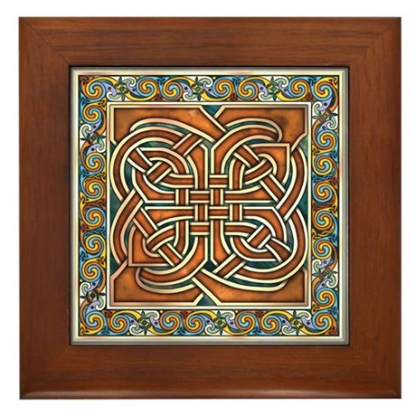 Interlace Panel Framed Tile