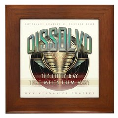 """Dissolvo Ray"" Framed Tile"