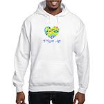 I LOVE ART Hooded Sweatshirt