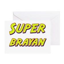 Super brayan Greeting Card