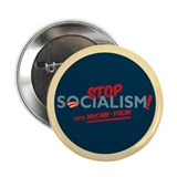 "Stop Socialism! 2.25"" Button (100 pack)"