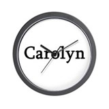 Carolyn - Personalized Wall Clock