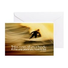 Inspirational Quote on a Greeting Card