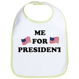 Me For President Bib