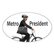 Metro President Oval Decal