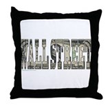 WALL STREET 1000 Dollar BILL Throw Pillow