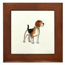 Beagle Framed Tile