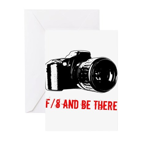 f/8 and be there Greeting Cards (Pk of 10)