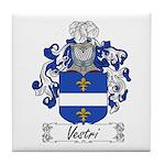 Vestri Family Crest Tile Coaster