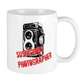 Suspicious Photographer Coffee Mug
